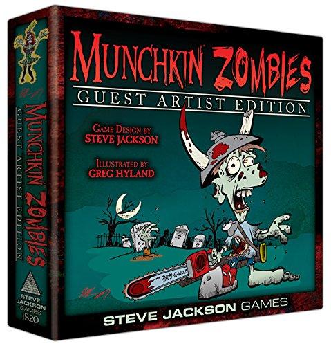 Steve Jackson Games sjg01520–Juego de Cartas Munchkin Zombies Guest Artist Edition