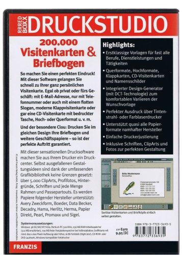 Druckstudio 200.000 Visitenkarten & Briefbogen