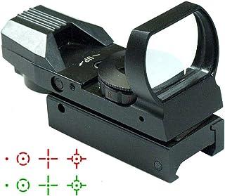 IRON JIA'S 20 mm Airsoft Carril táctico del retículo Multi 4 Punto Rojo y Verde la Vista del Alcance de Cola de Milano Red Dot Sight Monturas