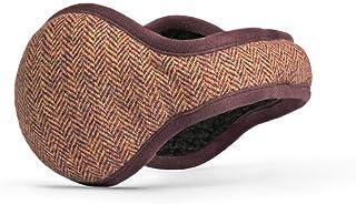 180s Men's American Wool Behind-the-Head Ear Warmer | Premium Winter Earmuffs