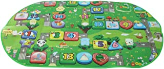 MagiDeal Elliptic Baby Toddler EVA Cartoon Pictures Crawling Mat Playhouse Carpet Rug Kids Picnic Camping Play Activity Toy