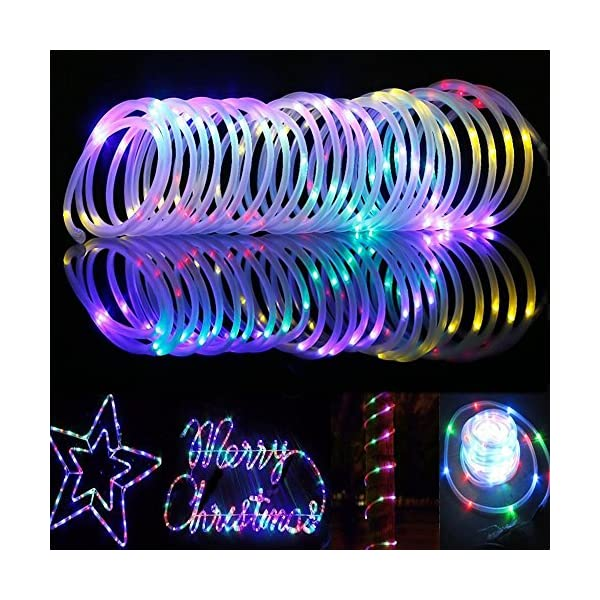 LED Fairy Rope String Lights - Liwiner USB Powered 33FT 100 LED String Light with Remote Timer 8 Mode Dimmable Strip… 8