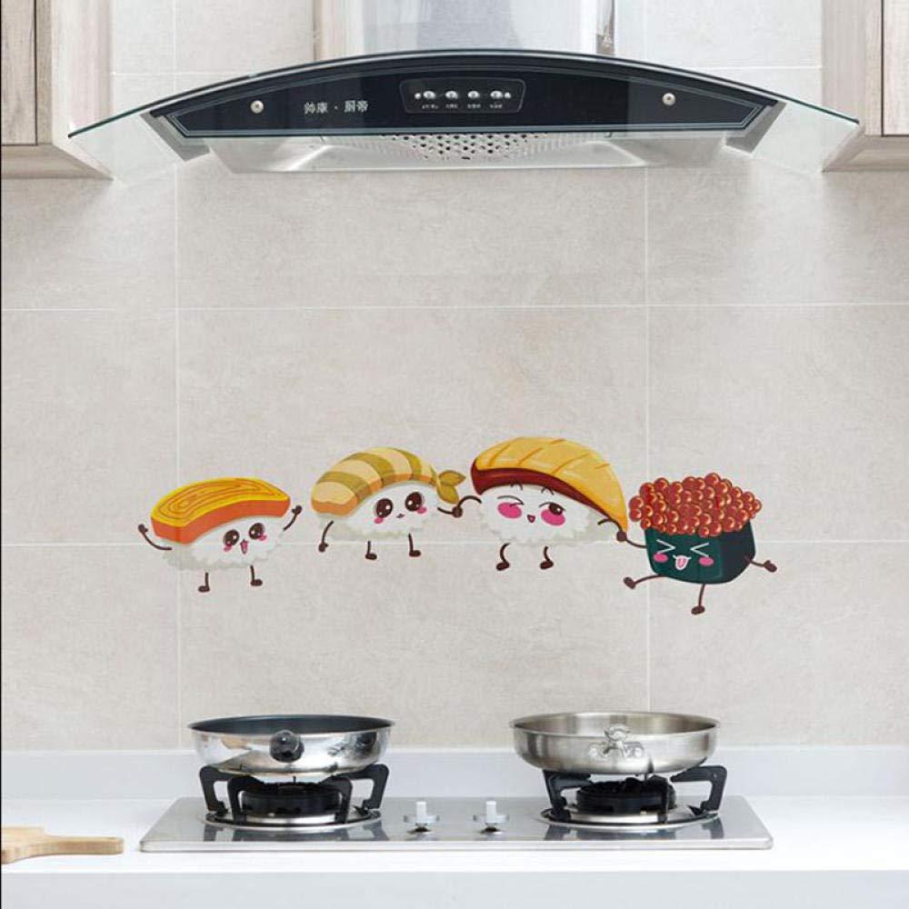 Silverdew 60 * 90 Adhesivo Impermeable Azulejo de Cocina Impermeable A Prueba de Agua Humo Etiqueta de la Pared-Frutas Verduras: Amazon.es: Hogar