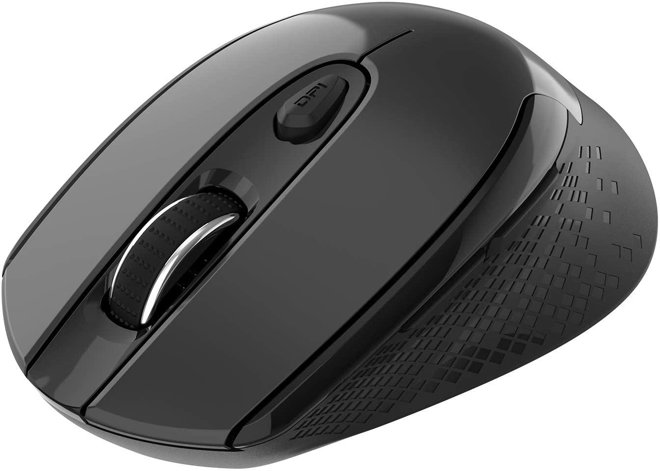 Wireless Mouse, 2.4G Wireless Ergonomic Optical Mouse, cimetech Slim Silent Mouse with USB Receiver and 3 Adjustable DPI Cordless Computer Mouse for Laptop, Desktop, MacBook, PC (Black)