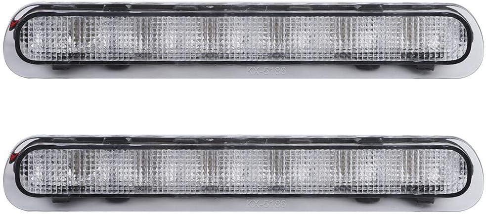 transparent Akozon Voiture Frein Lumi/ère 2 Pcs Arri/ère Hayon 3/ème Frein Stop Lumi/ère LED Lampe Fit pour Toyota Hilux