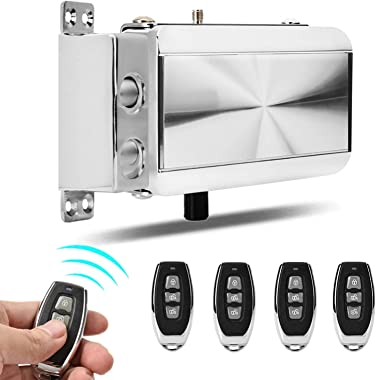 Remote Control Door Lock Kit Smart Anti-Theft Home Security Keyless Deadbolt Access Control System, Intelligent Home Remote C