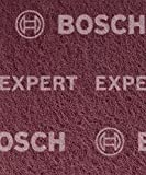 Bosch Professional 2608901220 Expert N880-Almohadillas de Fieltro (2 Unidades, 115 x 140 mm)