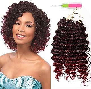 3Pcs/Lot Jerry Curl Crochet Braids Hair Extensions 10