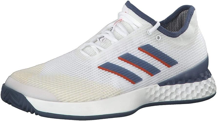 Adidas Chaussure Adizero Ubersonic 3 Blanc été 2019