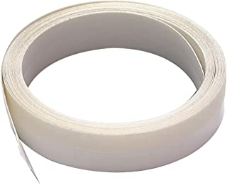M-D Building Products 3525 M-D 0 V-Flex Weather-Strip with Adhesive Back, 17 Ft L X 7/8 in W, Polypropylene, 1 Pack, White