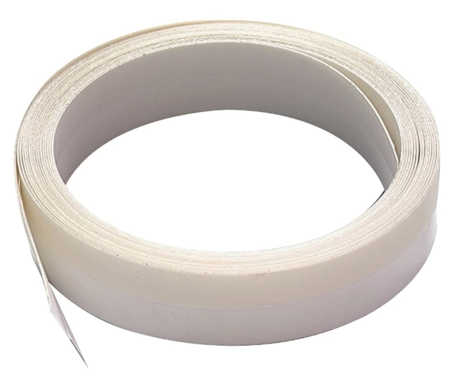 M-D Building Products 3525 M-D 0 V-Flex Weather-Strip with Adhesive Back, 17 Ft L X 7/8 in W, Polypropylene, White