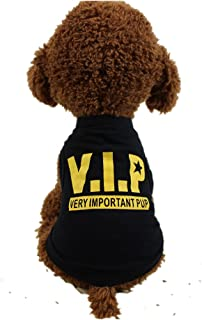 WEUIE Puppy Clothes Dog Clothing Cotton Vest Puppy Costume for Small Dog