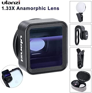 $33 Get RONSHIN Ulanzi 17mm Universal 1.33X Anamorphic Phone Lens for iPhone Xs Max X Huawei P20 Pro Mate Movie Shooting Film Making Phone Lens Electronic Accessories