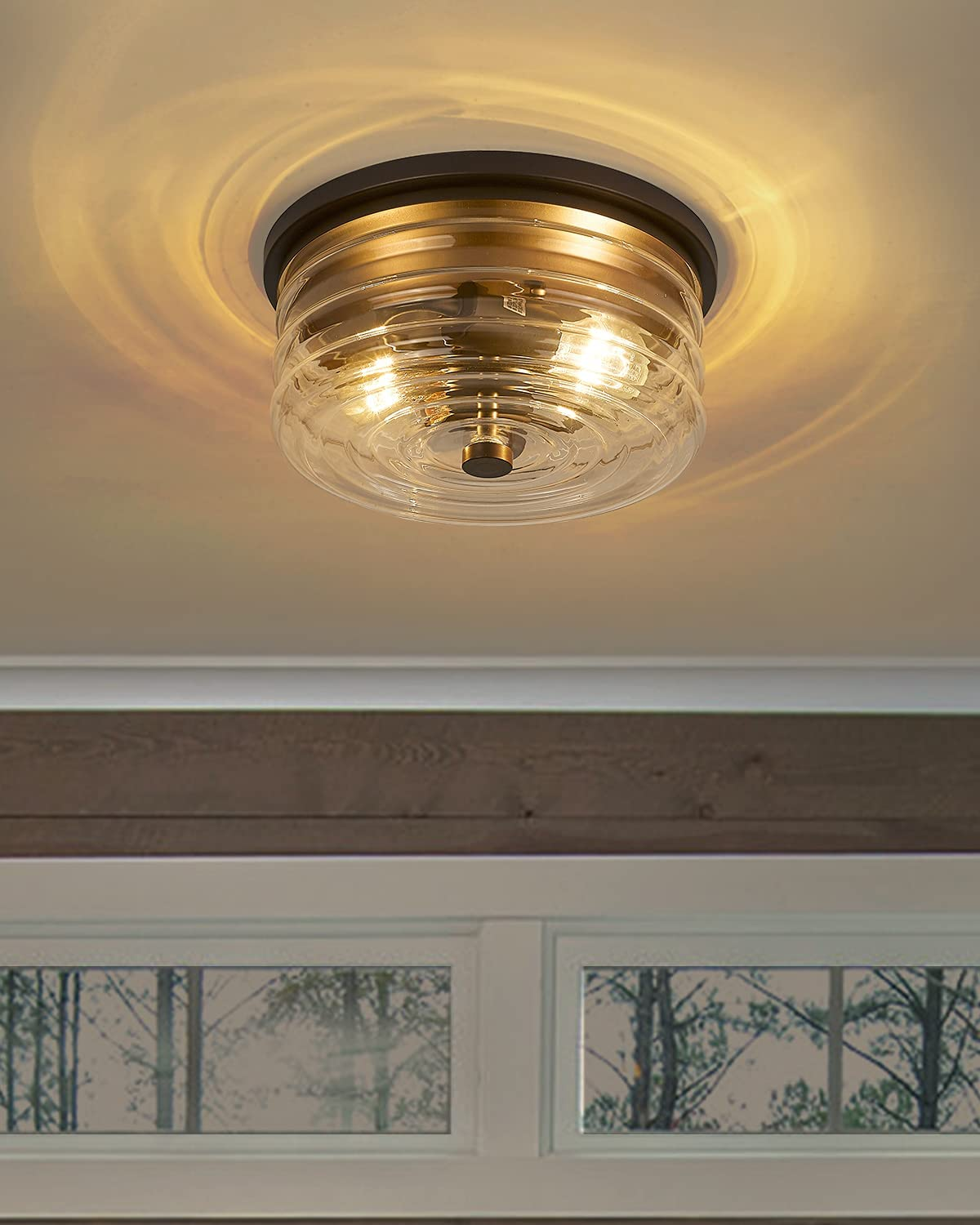 11'' Farmhouse Close Bombing new work to Ceiling Light Fixtures Vintage Flu Max 47% OFF - HWH