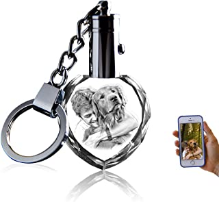Crystal Keychain Photo - Lighted Custom Crystal Picture...
