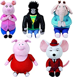 Best sing movie mike plush Reviews