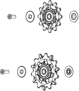 Sram Spare - 后变速器滑轮套件 Gx Eagle - 曲棍球车轮:黑色
