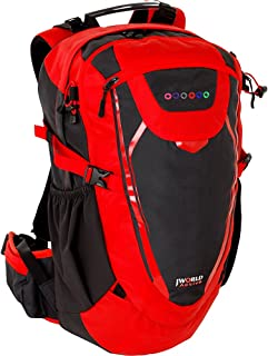 J World New York Multi Purpose Outdoor Sports Bag, RED, ONE SIZE