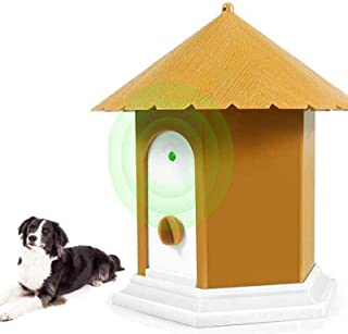 Best Clever sprouts Anti Barking Device, ultrasonic Dog bark Deterrent,No Bark Bird Box Bird House for Dogs,Waterproof,Hidden Anti-Barking Device, Dog Silencer Review