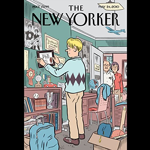 The New Yorker, May 24th, 2010 (Rebecca Mead, Alec Wilkinson, Simon Rich)                   By:                                                                                                                                 Rebecca Mead,                                                                                        Alec Wilkinson,                                                                                        Simon Rich                               Narrated by:                                                                                                                                 Mark Moran                      Length: 1 hr and 50 mins     Not rated yet     Overall 0.0
