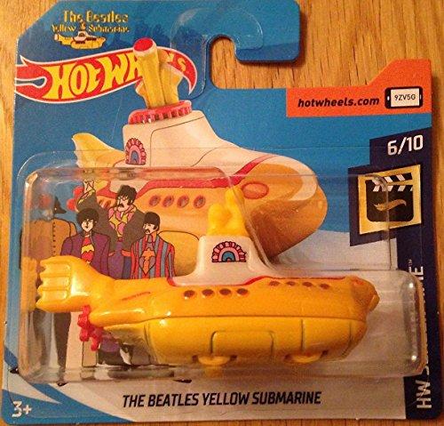 Hot Wheels 2018 The Beatles Yellow Submarine 6/10 HW Screen Time 26/365 (Short Card)