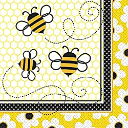 Bumble Bee Party Napkins