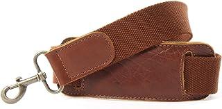 LECONI LEC-R6 - Correa de hombro ajustable para bolsos y bolsos de hombre, algodón, 150 cm, 3,8 x 150 cm