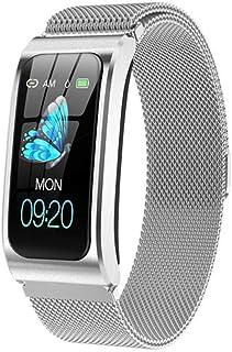 De Nieuwe Slimme Horloge AK12 Dameshorloge Bloeddruk Vrouwelijke Health Monitor Hartslag Is Geschikt Voor Android IOS Vrou...