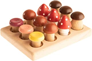 The wooden Mushroom Glade Educational game, Baby & Toddler Toys