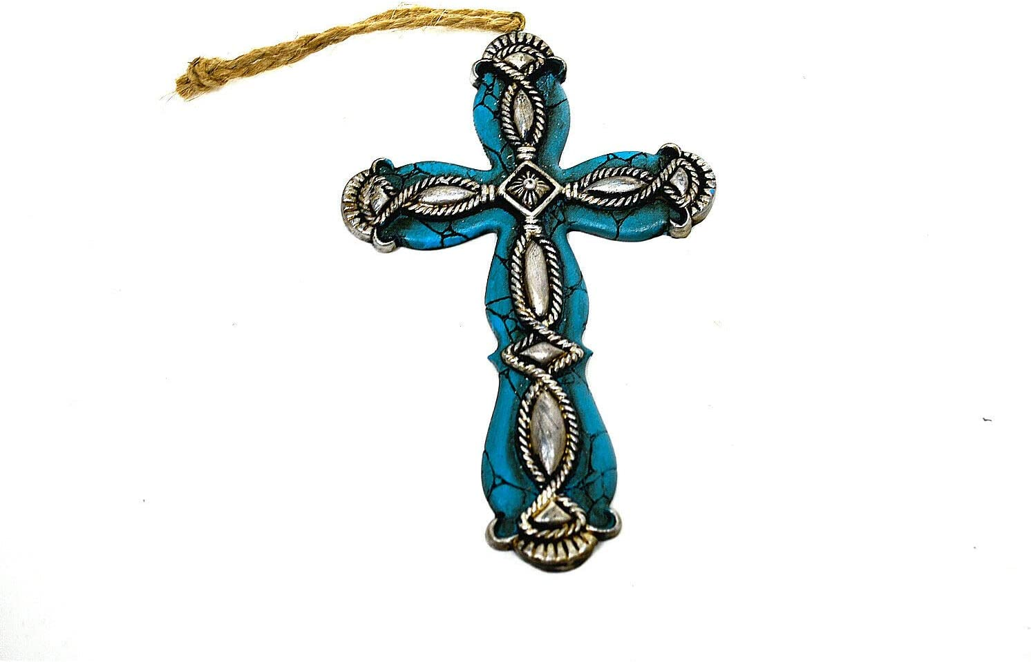 Beautiful and NEW before selling ☆ Unique design Western Style Small Our shop most popular Resin Cross Wall