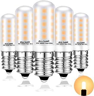 Eco.Luma - Bombilla E14 LED 4W Equivalente a E14 Incandescente De 40W, 3000K, 410LM, No Regulable, 220V - 240V AC, Sin Parpadeo, 5 Unidades