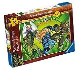 Ravensburger 05273 - Gormiti: Los dueños de la naturaleza (puzzle de suelo 50 x 70 cm) - Puzzle para niños 24 piezas