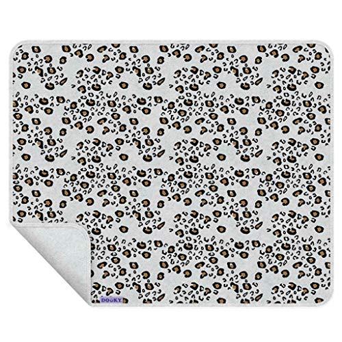 Manta Dooky de una sola capa, diseño de leopardo, 0,13 kg