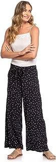 Roxy Womens South of World Wide Leg Viscose Pants for Women Erjnp03268