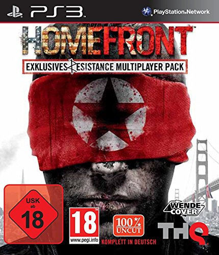 Homefront (Playstation 3) Including Exclusive Resistance Multiplayer Pack (720p or better screen required to play) Including the 870 express shotgun, Air Recon Drone, auto repair ability and the SCAR-L assault rifle.