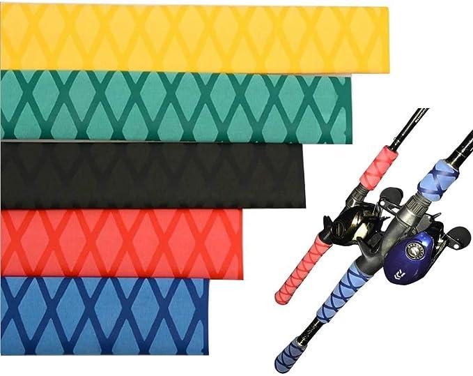 Aventik Heat Shrink X-Tube Wrap Fishing Rod Building Handle Cork Grip Repair 40 Diameter 1.6