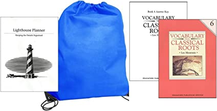 Vocabulary from Classical Roots Grade 6 w/ Answer Key homeschool kit in a bag