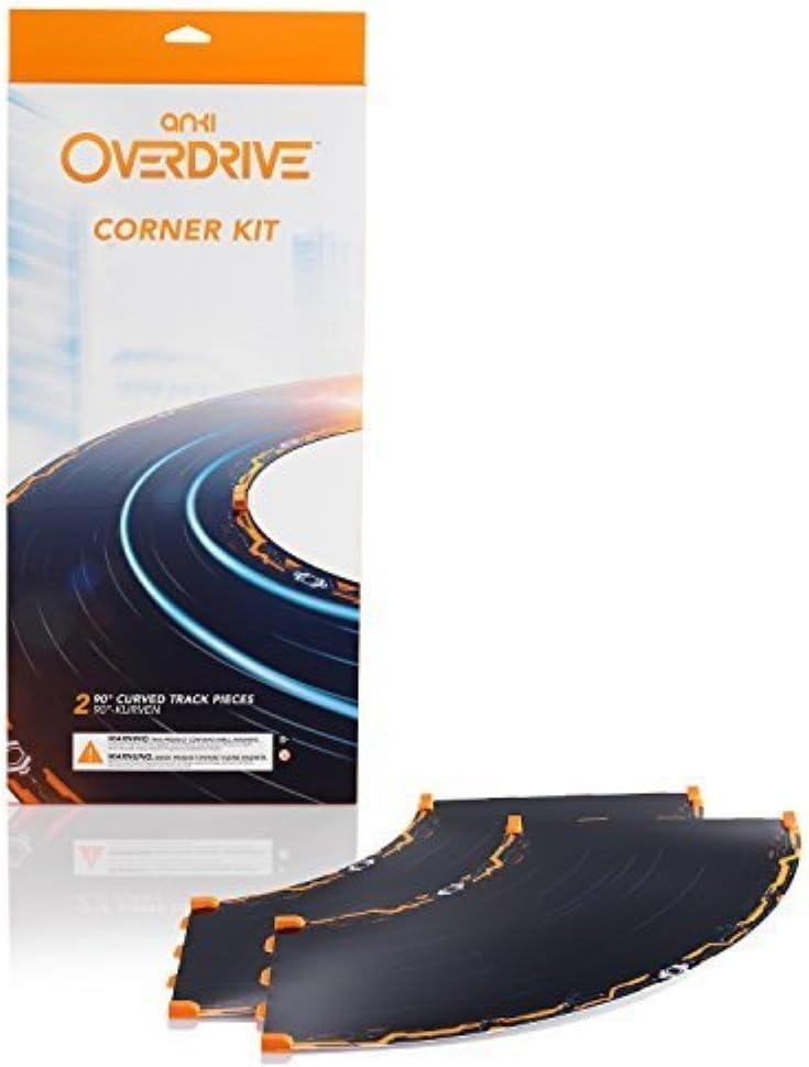 Anki 000-00034 Overdrive - Kit de Esquina de expansión, Color Negro