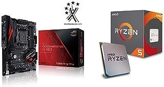 Pack Placa Base ASUS y Procesador AMD:ROG Crosshair VII Hero (WI-FI) y AMD Ryzen 5 2600X