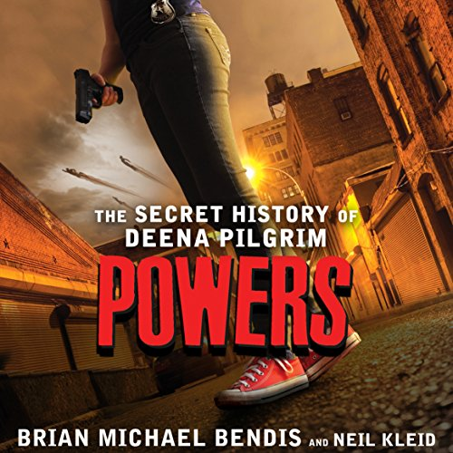 Powers audiobook cover art