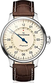MeisterSinger - Perigraph AM1003 Reloj Automático para hombres Diseño Clásico