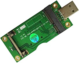 powerday Mini PCI-E to USB Adapter with SIM Card Slot for WWAN/LTE Module