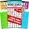 (Large Print Word Find Set) - Large Print Word Search Books for Adults Super Set - 4 Jumbo Word Find Puzzle Books with Large Print (Over 380 Pages Total)