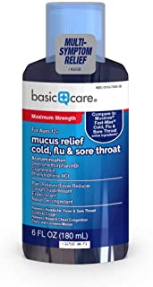 Basic Care Mucus Cold Relief, 6 fl. oz.