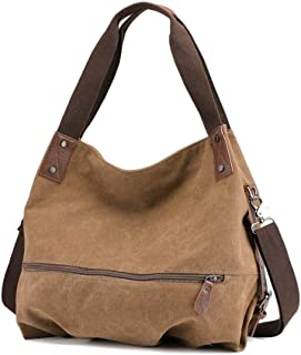 Ladies Handbag-casual Large Ladies Shoulder Bag-clearance Tote Bag Canvas Ladies Bag-canvas Bag/Handbag/Shopping Bag SYLOZ