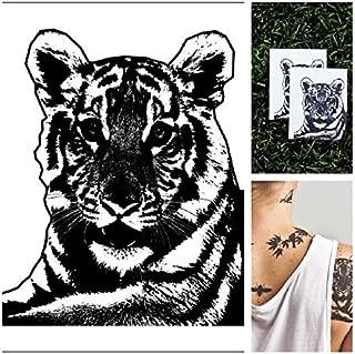 Tattify Animal Temporary Tattoo - Tiger Stripes (Set of 2)