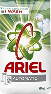 Ariel Automatic Laundry Powder Detergent, Original Scent, 6 KG