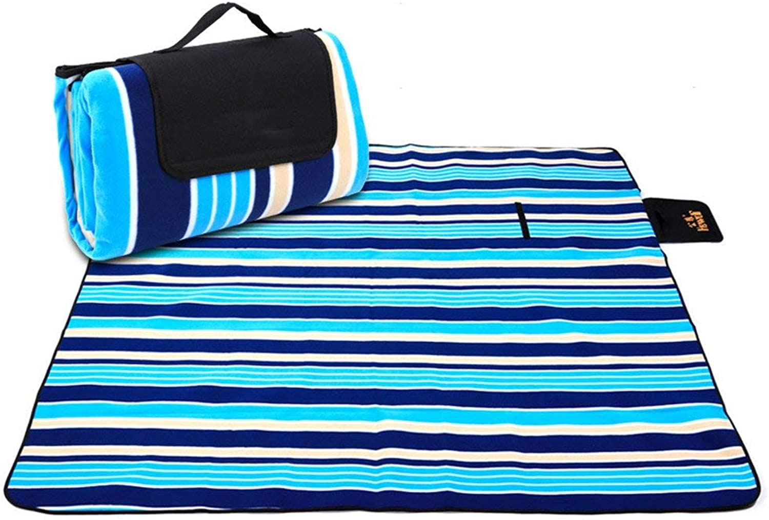 Foldable Beach Mat, Thickening, Damp Proof, Outdoor Folding Lawn, Oxford Cloth Cushion, Picnic Cloth