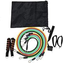 XWXBB Rallye-set, fitness touw trekkoord, multifunctioneel trainingsapparaat, gecombineerde rally, spanningsband, weerstan...