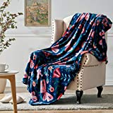 Hallmark Soft Blanket Throw for Women, Microfiber Throw Butterfly Blanket for Couch, 50''x70''